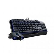 Клавиатура CoolerMaster Devastator II Blu, Гейминг, синя подсветка,черна, УСБ