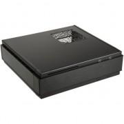 Carcasa pc , Silverstone , Silent SST/ML07B Milo Slim HTPC Mini ITX , negru