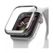 Apple Ringke Bezel Styling Apple Watch 40MM Randbeschermer RVS Zilver