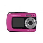 Polaroid Camara digital polaroid if045 rosa 14mp doble pantalla 2.7/1.8 sumergible 3mts