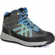 Regatta Dětská trekingová obuv REGATTA RKF509 Samaris Mid Modrá 34