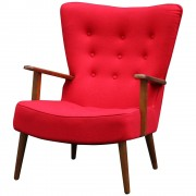 Relno Fauteuil Rood