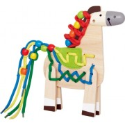 Hape-Wooden Lacing Pony