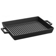 Tava grill fonta LAVA, 32cm (Neagra)