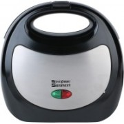 SilentPowerSunmeet 750-Watt 4-Slice Grill Sandwich Maker -SMMA2 Toast(Black)