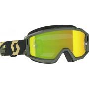 Scott Primal camo kaki Motocross Goggles - Size: One Size
