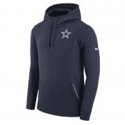 Nike Fly Fleece (NFL Cowboys) Herren-Hoodie - Blau