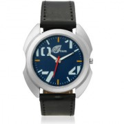 Arum Latest Designer Men's Black In Blue Watch AW-078