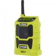 FM Radio da cantiere Ryobi R18R-0 One+ Bluetooth, USB, AUX Verde chiaro
