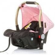 Бебешко столче за кола с адаптори 0-13кг. Chipolino Сенси, розов, 3500161