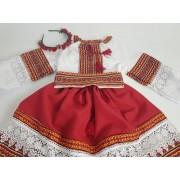 Compleu traditional fetite Adela