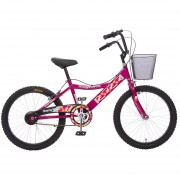 Bicicleta Rodada 20 Kingstone Cherry Girl Premium