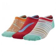 Nike Graphic Lightweight Cotton No-Show Kids' Socks (3 Pair)