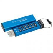Pendrive, 64GB, USB 3.0, Keypad, KINGSTON DT2000, kék (UK64GDT20K)