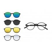 Thema Rame ochelari de vedere unisex clip-on THEMA U-243 M02