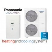 Panasonic KIT-WC12H6E5 Aquarea High Performance 1 fázisút levegő-víz hőszivattyú Hűtő-Fűtő 12 kW