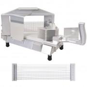 vidaXL Tomato Slicer Stainless Steel Cast Aluminium 1 Cutter 4.7 mm