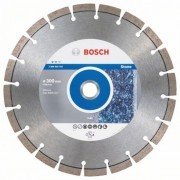 Диск диамантен за рязане Expert for Stone 300 x 25,40 x 2,8 x 12 mm, 2608603793, BOSCH