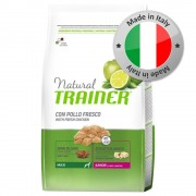 Trainer Natural Dog Trainer Natural Maxi Junior Pollo fresco - 2 x 12 kg