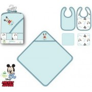 Mickey baba előke és kifogó szett (5 db-os)