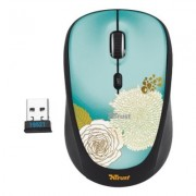 Trust Yvi Wireless Mouse - flower + EKSPRESOWA WYSY?KA W 24H