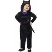 Costum de carnaval de pisica pentru copii 1-2 ani