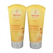 Weleda bébé crème au calendula corps et cheveux 400 ml 3596202599208