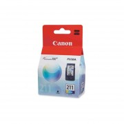 Cartucho Tinta Canon 211 Color CL-211 Original-Tricolor