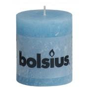 Bolsius Stompkaars 80/68 rustiek Aqua
