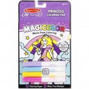 Carnetel de colorat Magicolor, zane si balerine, 18 pagini