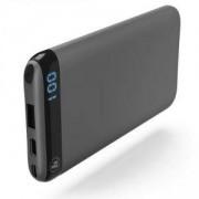 Външна батерия HAMA LED6S, 6000 mAh, Черен, HAMA-183361