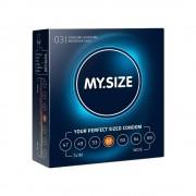 My.size Preservativo my.size 57 di my.size confezione da 3, 10 e 36 pezzi