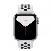 Apple Watch Nike Series 5 GPS + Cellular 40mm Alumínio Cinzento com Correia Desportiva Pure Platina/Preta
