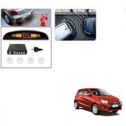 Auto Addict Car White Reverse Parking Sensor With LED Display For Maruti Suzuki Celerio