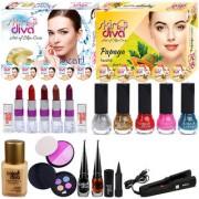 Color Diva Makeup Kit/Set Of 19 Products C-512