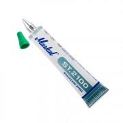Маркер в туба, ролер, за неръждаема стомана, ST2100, GREEN, зелен, 6 mm, 10 бр./оп., 10260523, MARKAL