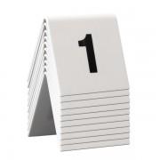 conf. 10 Segnaposto set da n° 1 a n° 10 Securit TN-1-10 - 303210 - Securit