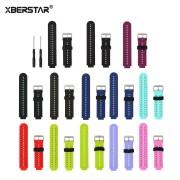 XBERSTAR Wrist Watchband Strap For Garmin Forerunner 230 235 630 220 620 735 Universal Silicone Replacement