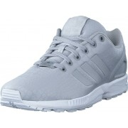 adidas Originals Zx Flux W Grey Two F17/Grey Two F17/Ftwr, Skor, Sneakers & Sportskor, Sneakers, Blå, Dam, 39