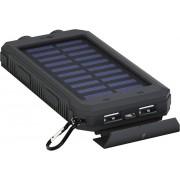 Încărcător solar și acumulator extern portabil Goobay Outdoor 8.0, 8000 mAh
