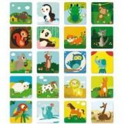 Детска мемо игра с малки животни Lisciani Ludattica, 8008324058051