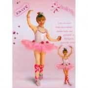 Costume Daisy la ballerina tg. 3/4 anni