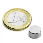 Magnet neodim disc, diametru 9 mm, putere 2,4 kg