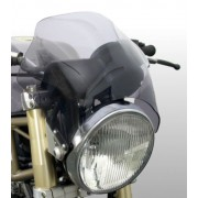 Raptor - Universal Motorcycle Screen for Naked Bikes: Light Grey M0013H