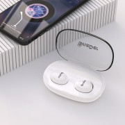 ONEDER W12 TWS Mode Wireless Stereo Bluetooth Headphone with Microphone - White