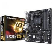 Gigabyte P?yta g?ówna GA-AB350M-DS3H V2 AM4 B350 4DDR4 4USB3/HDMI/DVI M.2 micro ATX