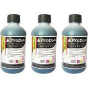 ProDot All Inkjet Printers 200 ml Set Of 3 Single Color Ink (Black)