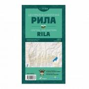 Централна и Източна Рила - топографска карта