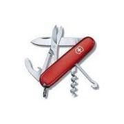 Canivete Victorinox Compact 15 Funções 9,1 cm - Vermelho