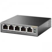 Kомутатор TP-Link TL-SF1005P с 4 PoE порта, TL-SF1005P(UN)_VZ